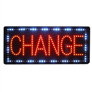 LED Schild Change -YP1073